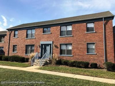Asbury Park Condo/Townhouse For Sale: 306 Deal Lake Drive #53
