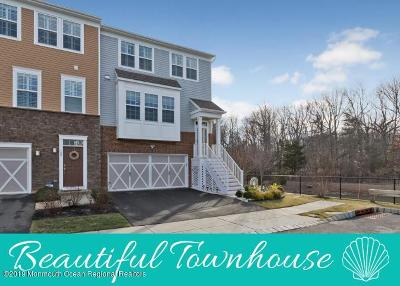 Eatontown Condo/Townhouse For Sale: 132 Halliard Drive
