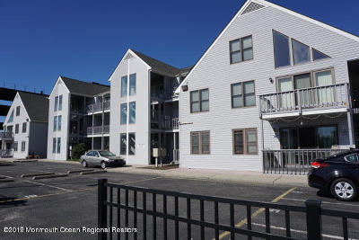 Seaside Heights Condo/Townhouse For Sale: 42 Hamilton Avenue #C15