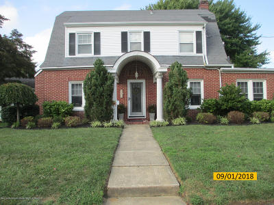 West Long Branch Single Family Home For Sale: 25 Chestnut Place