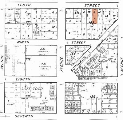 Lakewood Residential Lots & Land Under Contract: 20 10th Street