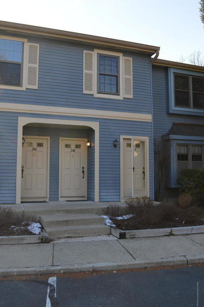 Monmouth County Condo/Townhouse For Sale: 248 Interlaken Court