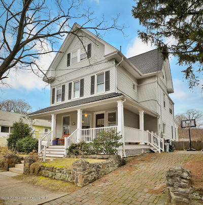 Atlantic Highlands Single Family Home For Sale: 62 7th Avenue