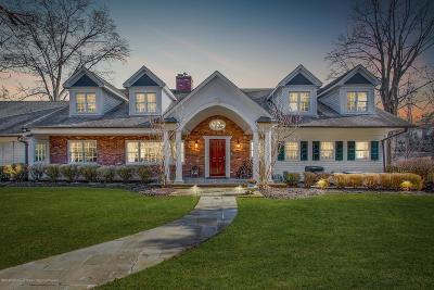 Rumson Single Family Home For Sale: 15 Sheraton Lane
