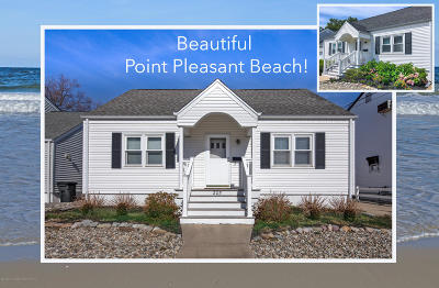 Point Pleasant Beach Single Family Home Under Contract: 205 Yale Avenue