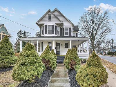 Freehold Single Family Home For Sale: 118 South Street