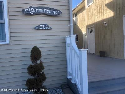 Seaside Heights Condo/Townhouse For Sale: 213-217 Hiering Avenue #A4