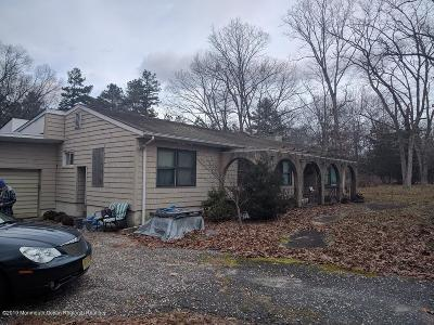 Jackson Single Family Home Under Contract: 1223 Toms River Road