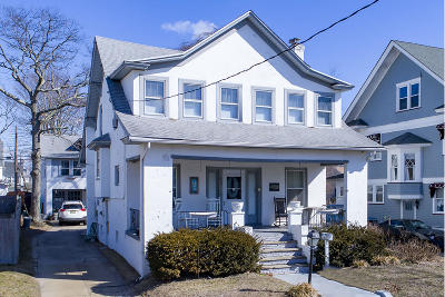 Bradley Beach Single Family Home For Sale: 408 Evergreen Avenue