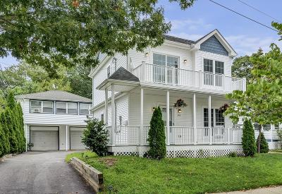 Bradley Beach Single Family Home For Sale: 306 Hammond Avenue