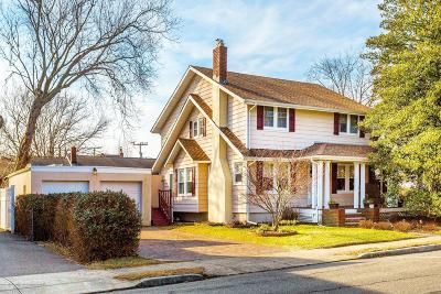 Avon-by-the-sea, Belmar Single Family Home For Sale: 519 12th Avenue