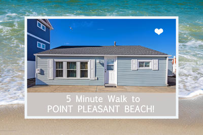 Point Pleasant Beach Single Family Home For Sale: 74 Inlet Drive #B