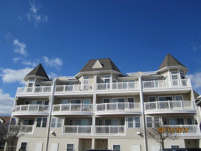 Seaside Heights Condo/Townhouse For Sale: 1301 Boulevard #12