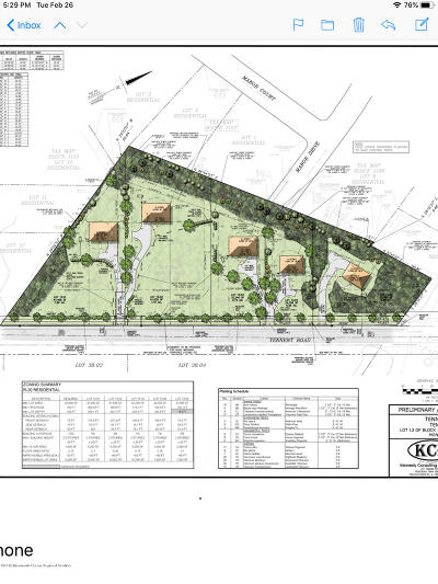 Residential Lots & Land For Sale: 621 Tennent Road