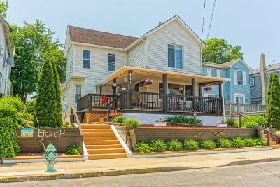 Bradley Beach Single Family Home Under Contract: 411 Newark Avenue