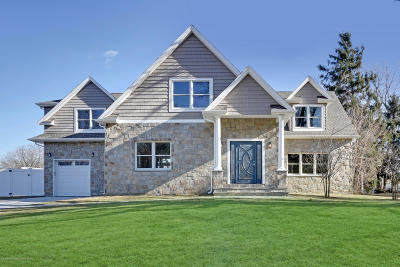 West Long Branch Single Family Home For Sale: 32 Mount Drive