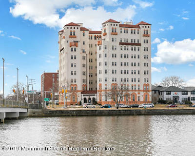Asbury Park Condo/Townhouse Under Contract: 400 Deal Lake Drive #6A