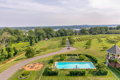 Monmouth County Farm For Sale: 719 Navesink River Road