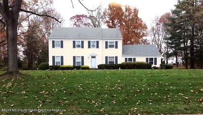 Monmouth County Single Family Home For Sale: 90 White Pine Drive