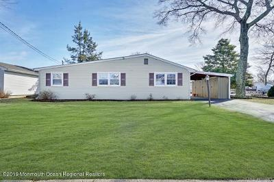 Forked River, Lacey, Lanoka Harbor Single Family Home For Sale: 611 Ranger Drive