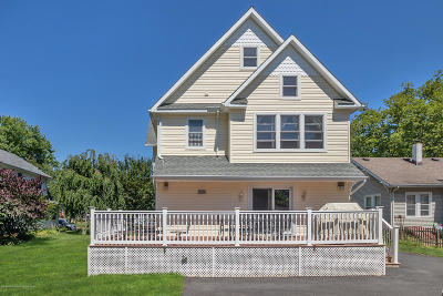 Manasquan Single Family Home Under Contract: 66 Parker Avenue