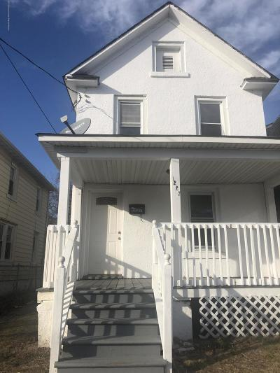 Asbury Park Single Family Home For Sale: 1227 Summerfield Avenue