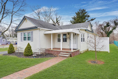 Monmouth County Single Family Home Under Contract: 232 Overbrook Avenue