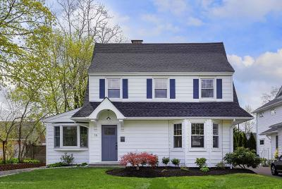 Red Bank Single Family Home Under Contract: 16 Buena Place