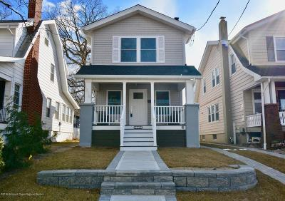 Asbury Park Single Family Home For Sale: 1216 Sunset Avenue
