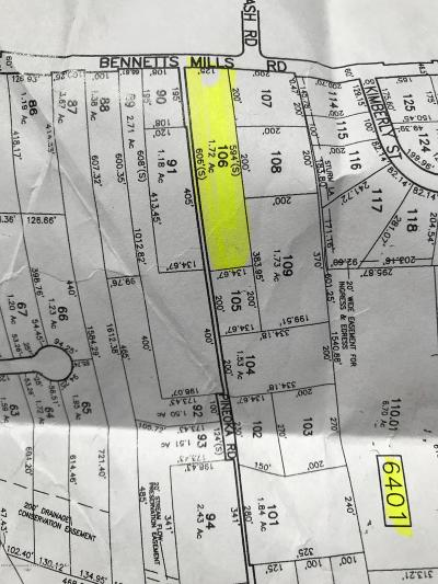 Residential Lots & Land For Sale: 0000 Bennetts Mills Road