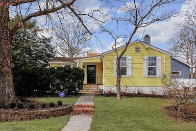 Spring Lake Single Family Home Under Contract: 600 Monmouth Avenue