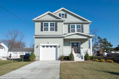 Long Branch, Monmouth Beach, Oceanport Single Family Home For Sale: 231 Coleman Avenue
