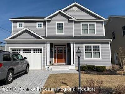 Manasquan Single Family Home Under Contract: 14 Minnesink Road
