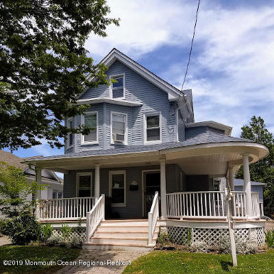 Bradley Beach Rental For Rent: 410 Brinley Avenue