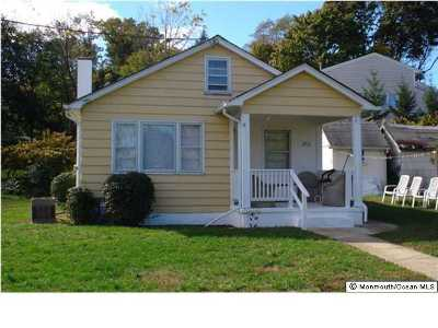 Long Branch Single Family Home For Sale: 392 Hampton Avenue