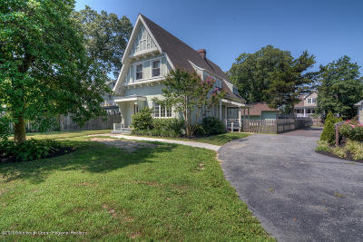 Point Pleasant Beach Single Family Home Under Contract: 217 River Avenue