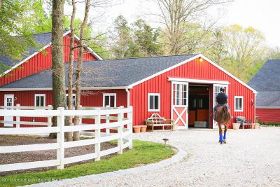 Monmouth County Farm For Sale: 24 Squankum Road