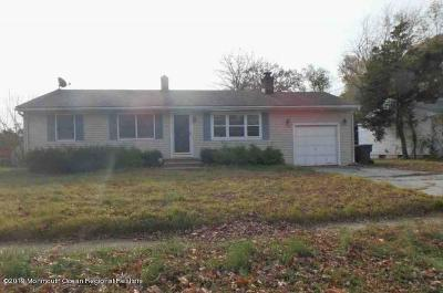 Toms River Single Family Home For Sale: 865 Raleigh Drive