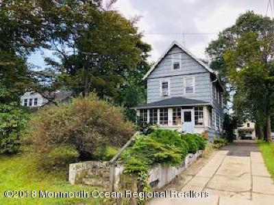 Long Branch, Monmouth Beach, Oceanport Single Family Home For Sale: 288 Norgrove Place