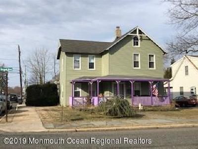 Long Branch, Monmouth Beach, Oceanport Single Family Home For Sale: 116 Grand Avenue