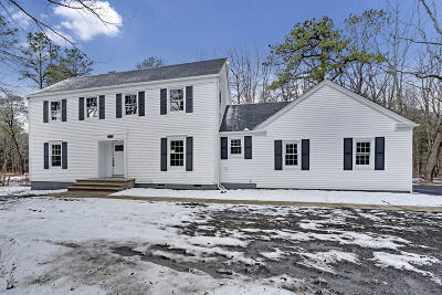 Millstone Single Family Home For Sale: 442 Monmouth Road
