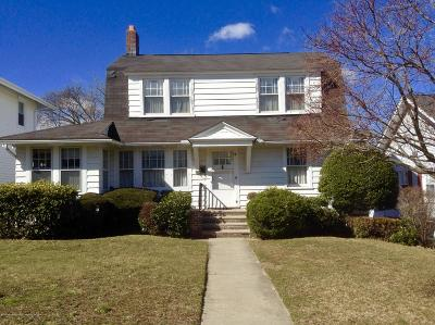 West Long Branch Single Family Home Under Contract: 72 Oakwood Avenue