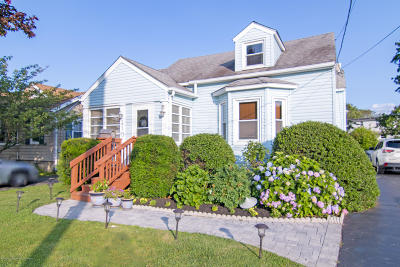 West Long Branch Single Family Home For Sale: 110 Wall Street