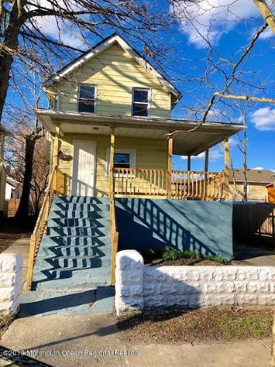 Asbury Park Single Family Home For Sale: 1607 Bangs Avenue