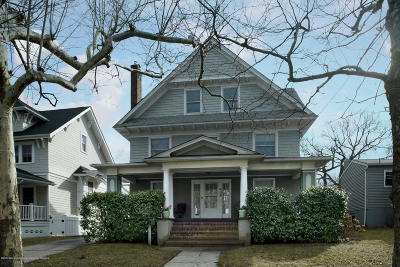 Ocean County, Monmouth County Single Family Home For Sale: 409 Evergreen Avenue