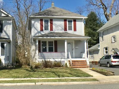Red Bank Single Family Home Under Contract: 15 Elm Place