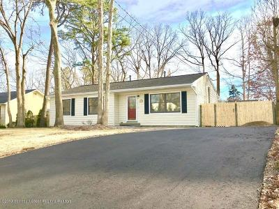 Ocean County Single Family Home For Sale: 263 Crows Nest Road