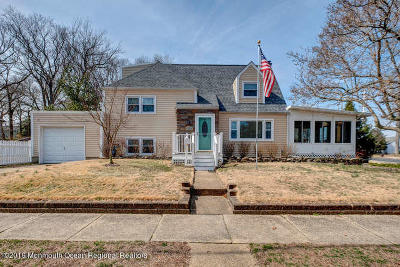 Belmar Single Family Home Under Contract: 1601 Oakwood Road