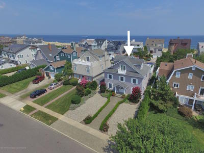 Sea Girt Single Family Home For Sale: 808 1st Avenue