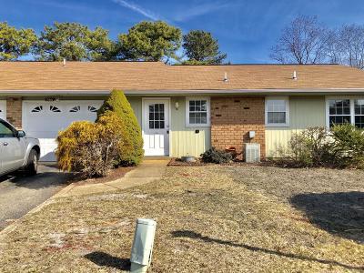 Ocean County Adult Community For Sale: 138a Buckingham Drive #A